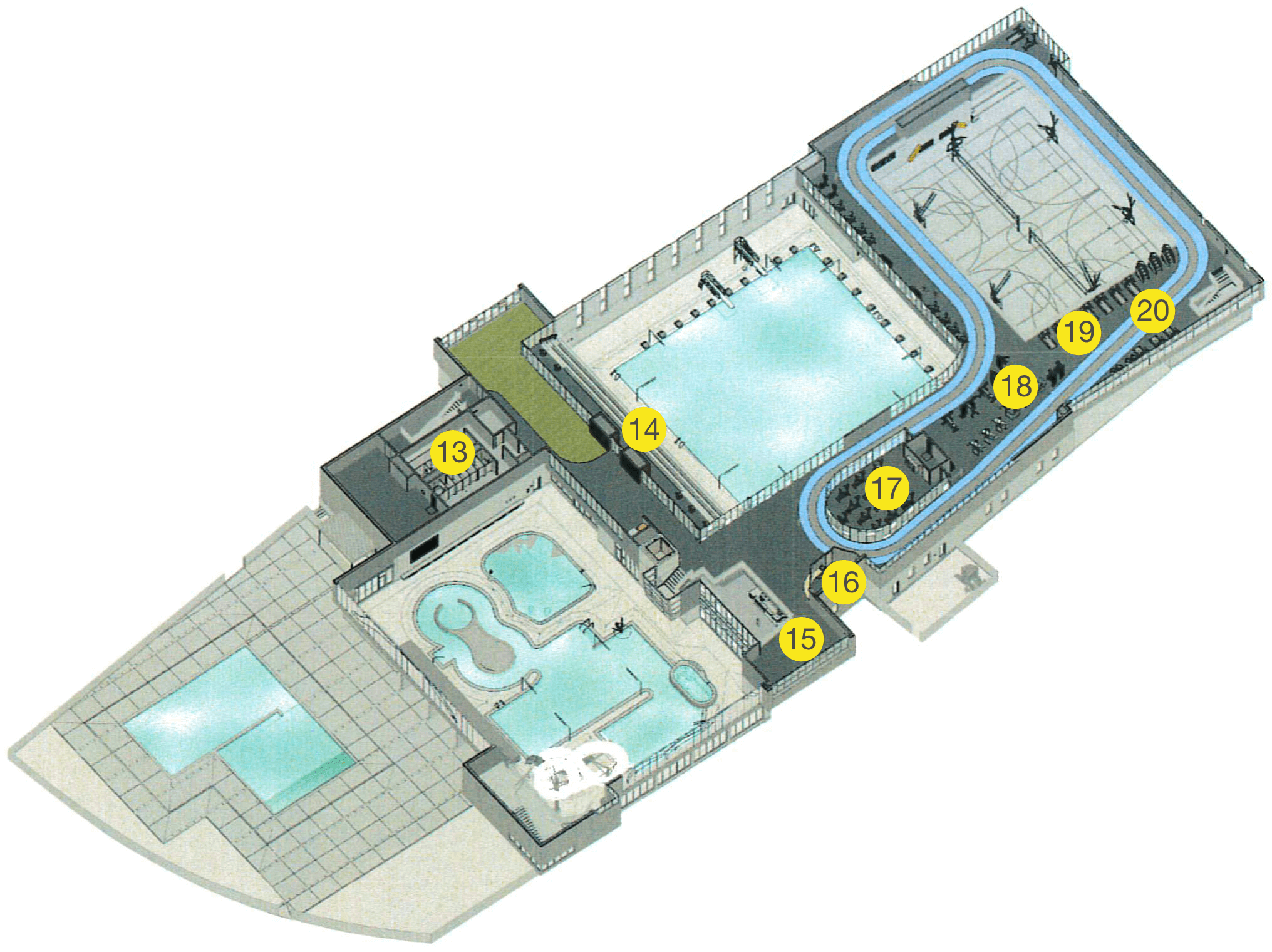 Recreation Layout